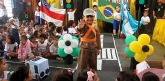 Manaus está 1º lugar em Educação de Trânsito no Brasil - Imagem: Altemar Alcântara e Marinho Ramos / Semcom