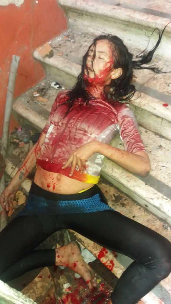Mulher é assassinada em escadaria no centro de Manaus- Imagem: Divulgação