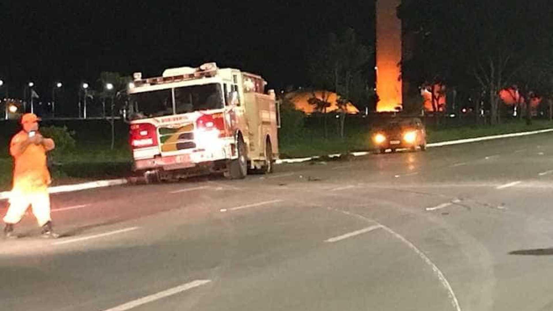 Suposto atentado terrorista no Congresso Nacional é interceptado pela polícia do DF - Imagem: Divulgação