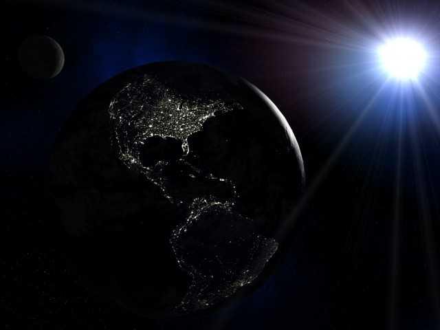 Tempestade solar poderá deixar a Terra em total escuridão - Imagem: Divulgação