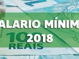 Valor do salário mínimo será de R$954,00 em 2018 - Imagem: Divulgação
