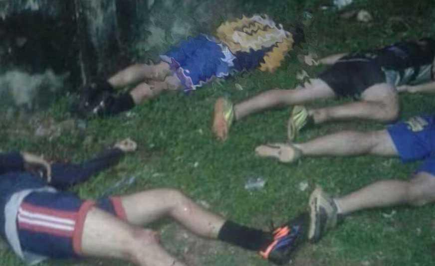 Jogadores mortos na chacina no CSU da Compensa / Divulgação