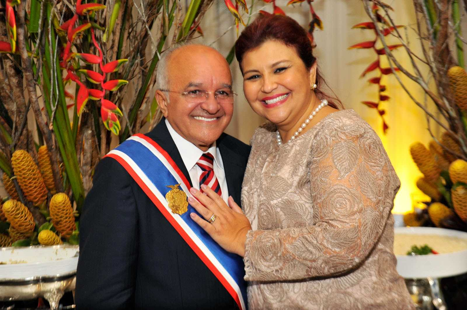 José Melo e a esposa Edilene Gomes / Foto: Alfredo Fernandes