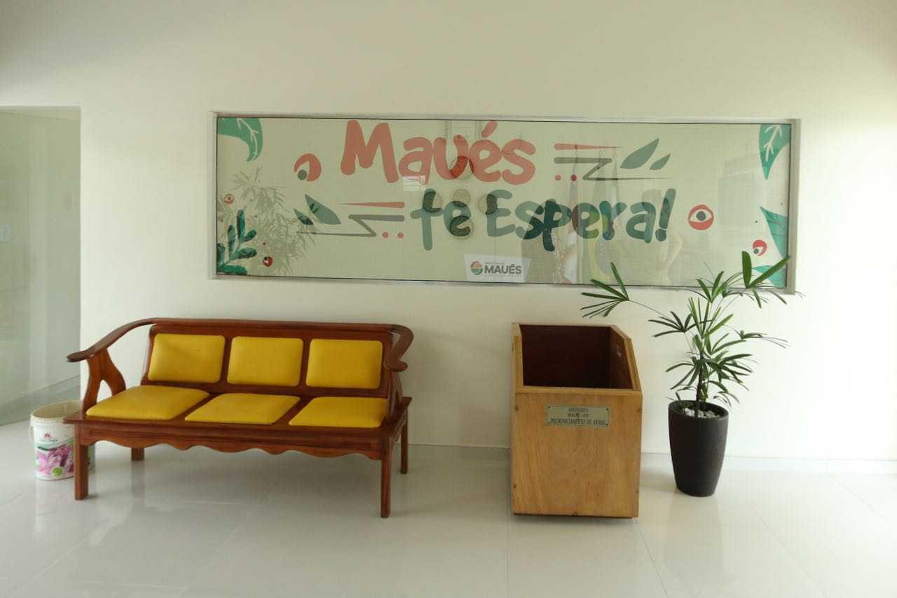 novo aeroporto Bento Ribeiro em Maues / Foto : Divulgação