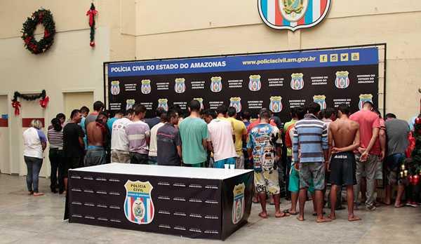 Foto: Erlon Rodrigues/ Assessoria de Imprensa da Polícia Civil do Amazonas