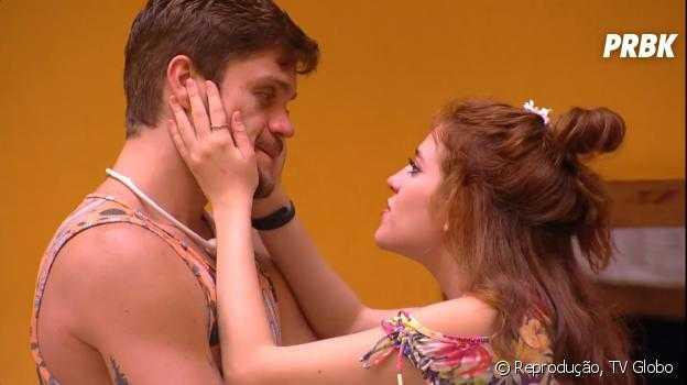 """No """"BBB18"""", Breno e Ana Clara têm DR e se beijam / Foto Divulgação"""