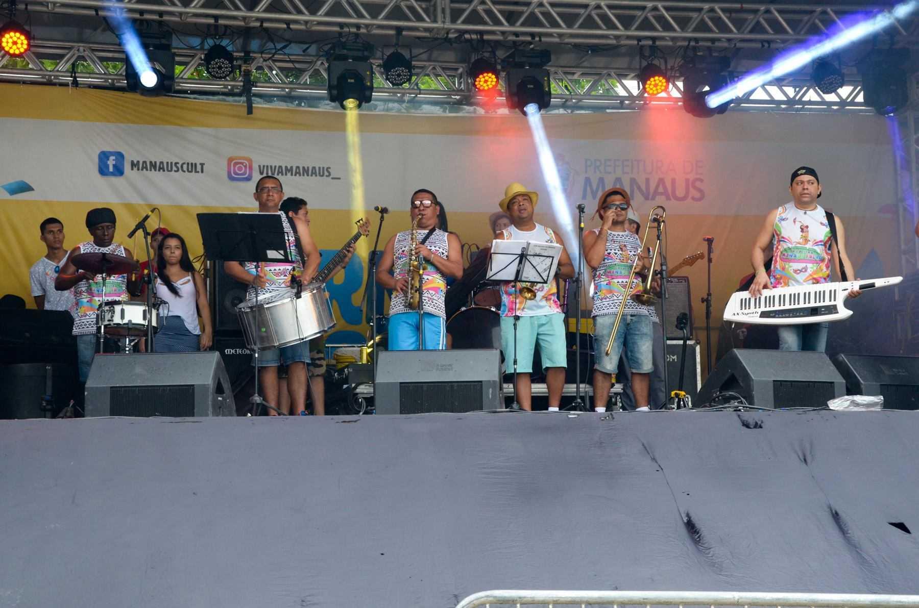 Banda do Galo de Manaus. Foto: Ingrid Anne/Manauscult