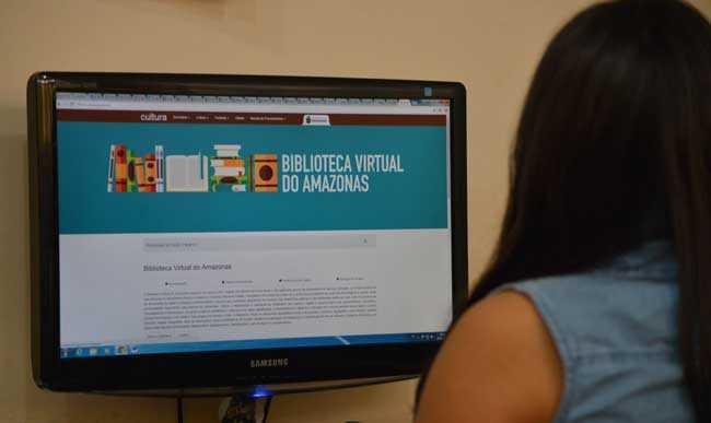 Biblioteca Virtual do AM oferece mais de três mil obras gratuitas