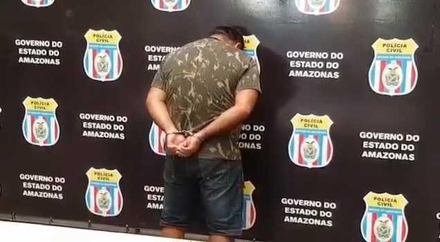 Camelô é preso por estuprar sobrinha de 7 anos em Manaus - Imagem: Divulgação