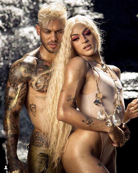 Pabllo Vittar conta como evitou ereção em clipe sensual com Lucas Lucco - Imagem: Divulgação