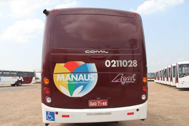 Paralisação de ônibus afeta 10 mil passageiros nesta terça (16) em Manaus - Imagem: Divulgação