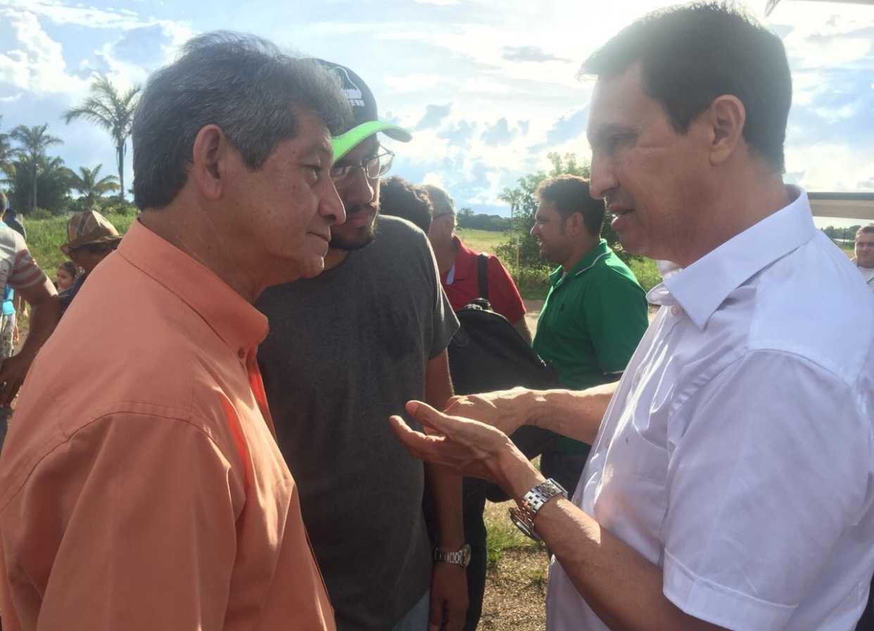 Sidney Leite participa da eleição suplementar de Novo Aripuanã apoiando Jocione Souza / Divulgação
