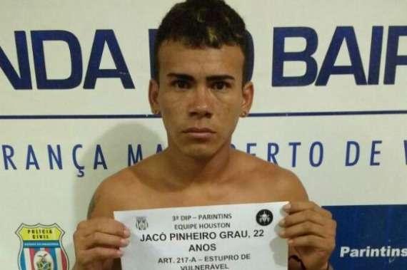 Suspeito de estuprar sobrinha de 9 anos em Juruti é preso em Parintins - Imagem: Divulgação/PC