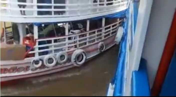 Vídeo mostra o momento exao do acidente- Imagem: Divulgação
