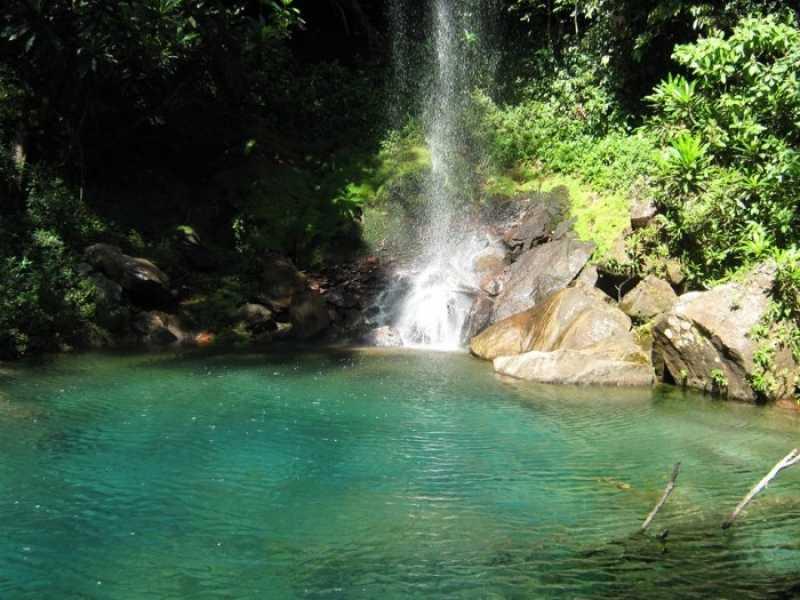 Foto da Cachoeira do Roncador / Foto : Divulgação