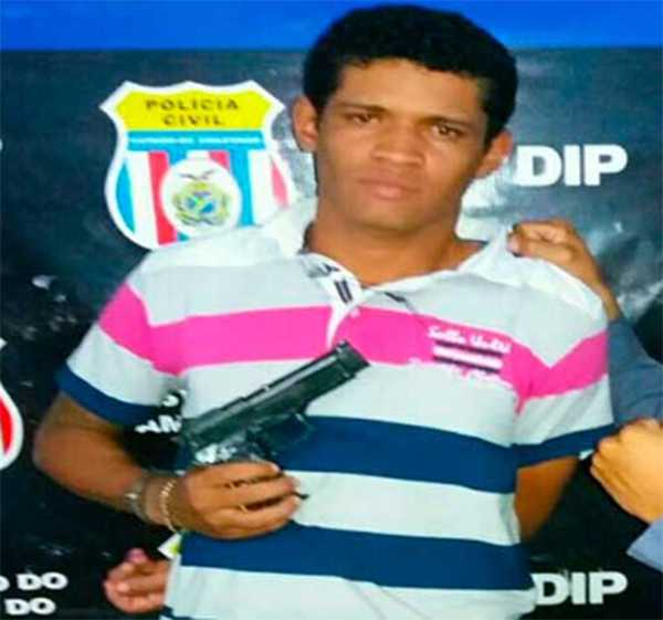 Foragido da polícia capturado /  Foto: Divulgação/ PMAM