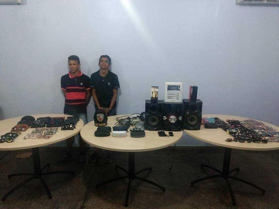 Ladrões de Óculos no centro de Manaus / Foto: Divulgação