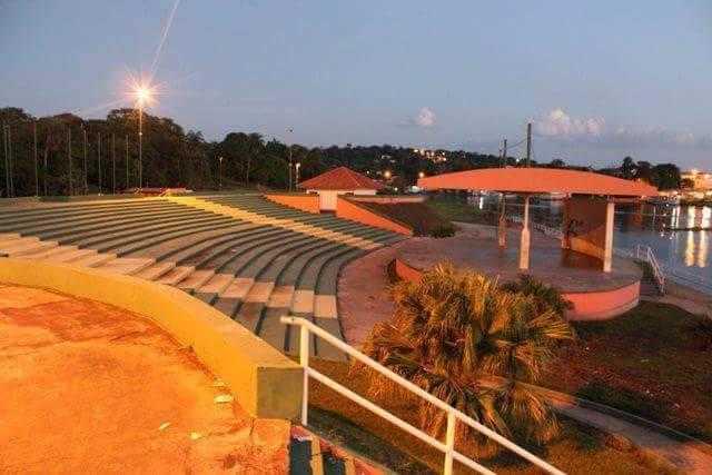O anfiteatro da cidade onde são realizadas as festividades | Foto: Divulgação/Assessoria Prefeitura de Silves