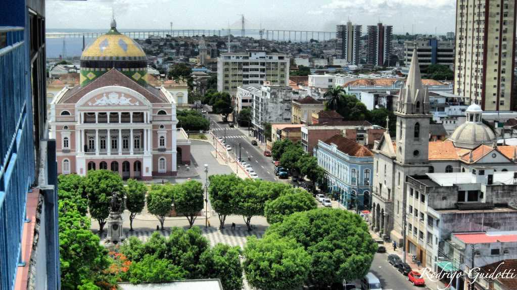 Centro Histórico de Manaus / Foto : Rodrigo Guidotti