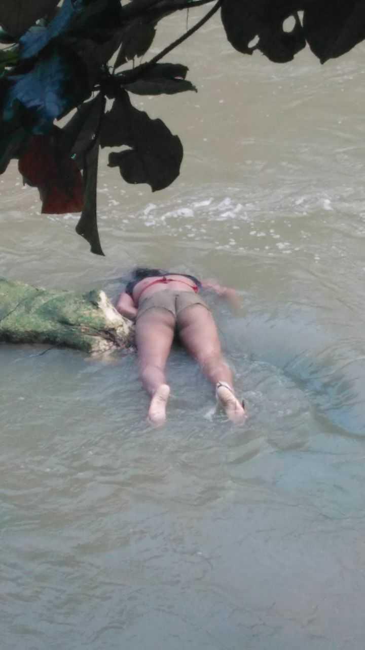 Corpo de mulher é encontrado no igarapé do Parque dos Bilhares em Manaus - Imagem: Divulgação