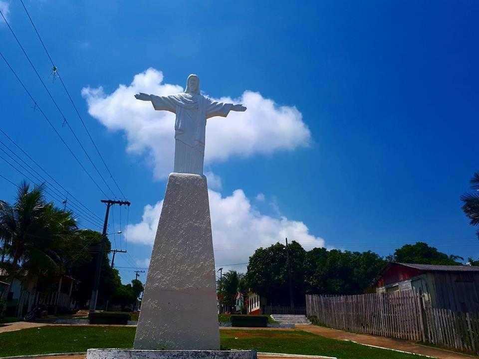 O obelisco do Cristo Redentor | Foto: Divulgação/Assessoria Prefeitura de Silves
