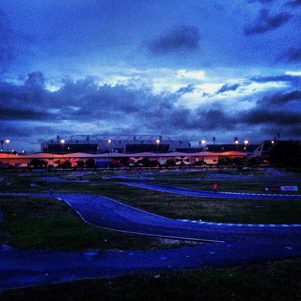 Kartódromo de Manaus será o palco do concurso Festival de Música Universitária / Foto : Reprodução FourSquare