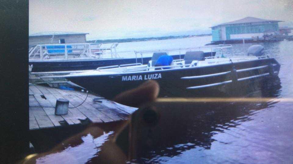 Lancha Maria Luiza / Foto : Reprodução Facebook