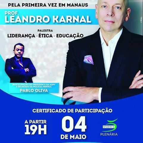 Leandro Karnal em Manaus