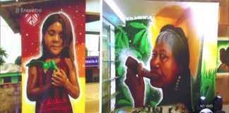 Telões do programa 'Encontro' da rede Globo homenageiam artista de Manaus