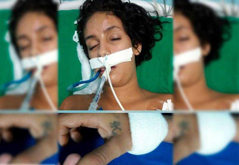 A mulher, segundo o setor de Serviço Social, tem evidências de agressão física | Foto: Divulgação