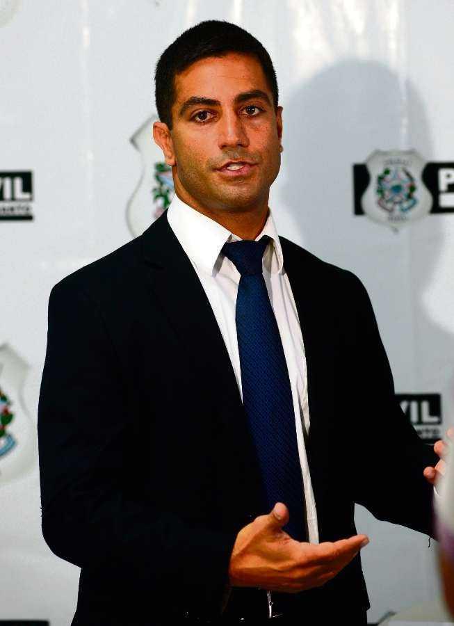 Delegado Tarik Souki, titular da DCCV de Guarapari / Foto: Bernardo Coutinho | Arquivo