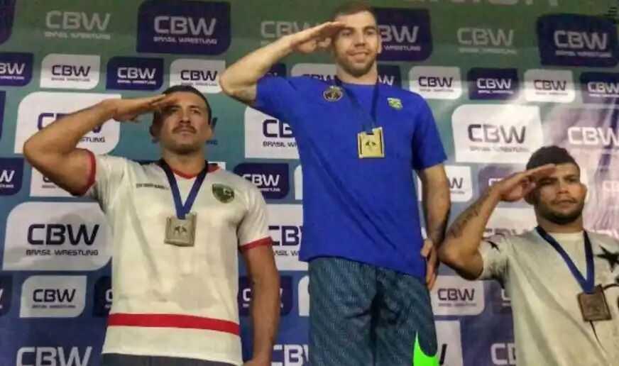 Policial Militar do Amazonas é vice-campeão brasileiro de Wrestling