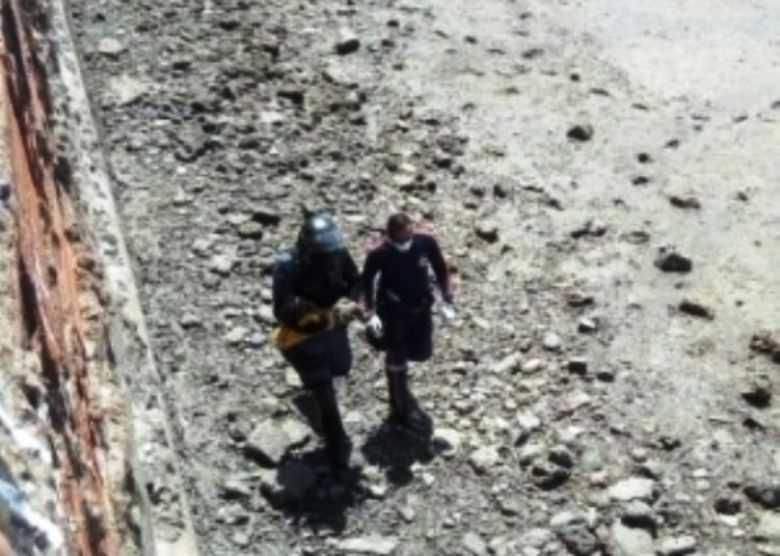 Bebê sobrevive após ser arremessado de ponte com 30 metros- Imagem:Divulgação