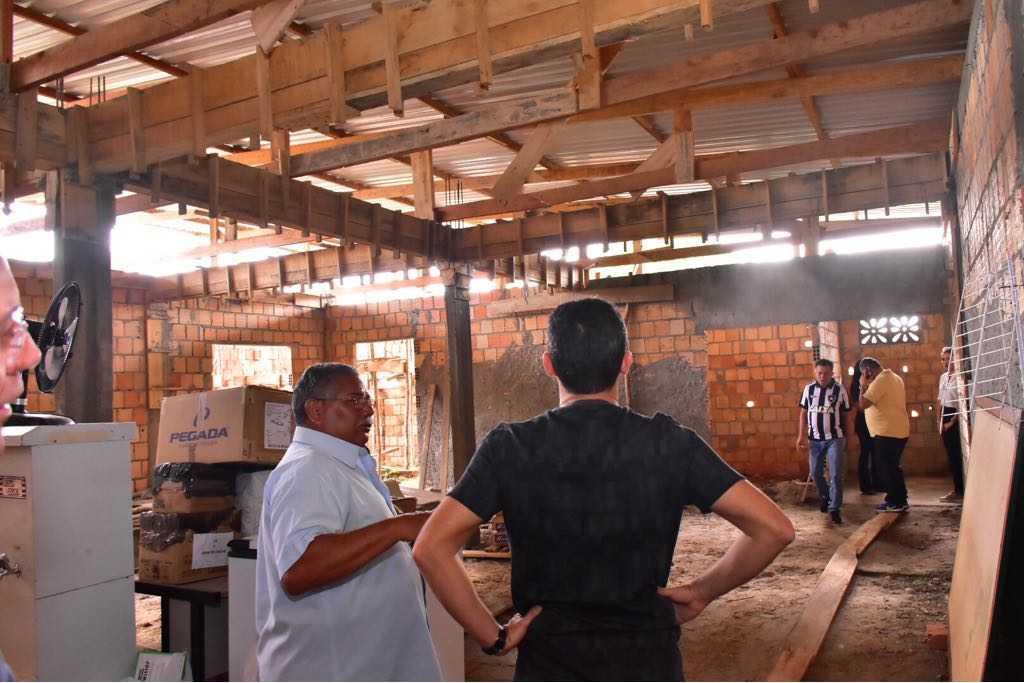 David busca apoio público para ajudar Associação dos Cidadãos Especiais em Manacapuru/ Foto: Dhyeizo Lemos