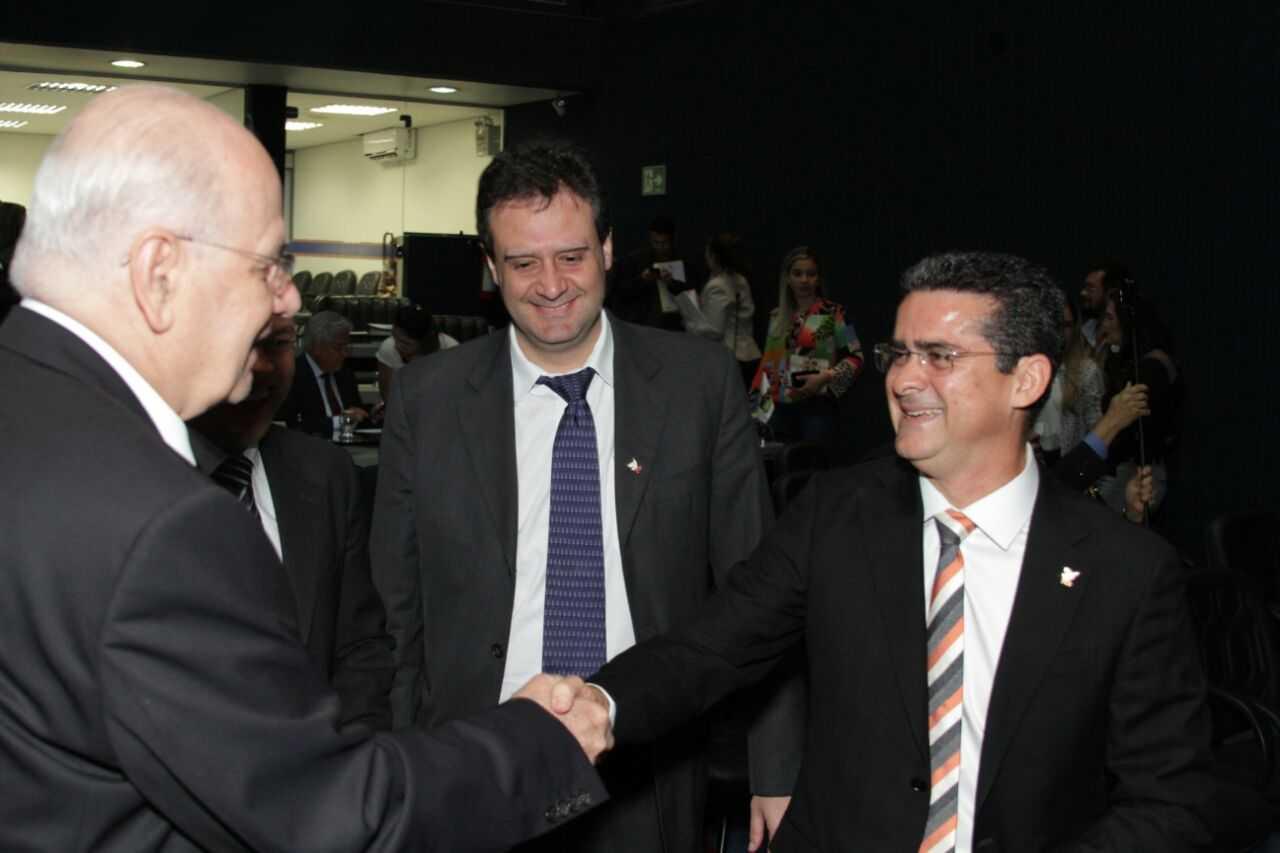 David Almeida confirma ida para o PSB de Serafim / Foto : Marcelo Araújo
