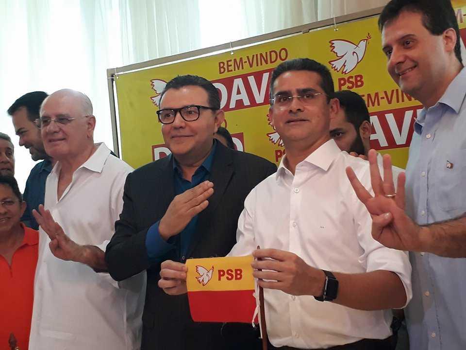 David Almeida oficializa filiação no PSB de Serafim Corrêa nesta quinta-feira - Imagem: No Amazonas é Assim