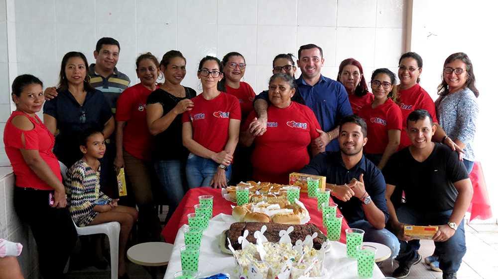 Funcionários da Casa de Apoio de Tefé em Manaus / Foto : Divulgação