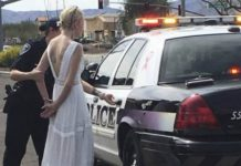 Noiva é presa após se envolver em acidente a caminho do casamento - Imagem: Divulgação
