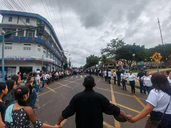 Manacapuru, manifestação de  professores - Imagem: Divulgação