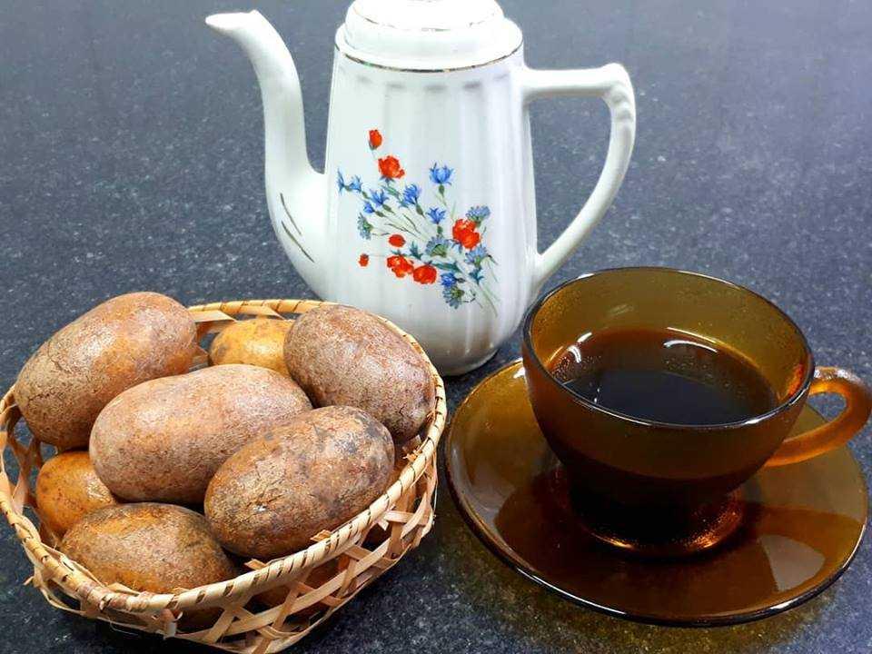 Uixi com café / Foto : Reprodução Facebook Metido Na Cozinha