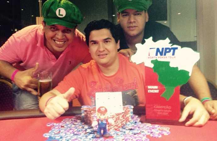 Amazonense é campeão de Poker no Pará (Foto: Divulgação)