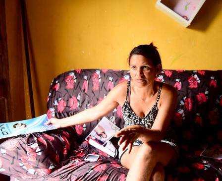 Mãe de Gleici trabalhou como doméstica e criou os três filhos sozinha Foto: Jardy Lopes