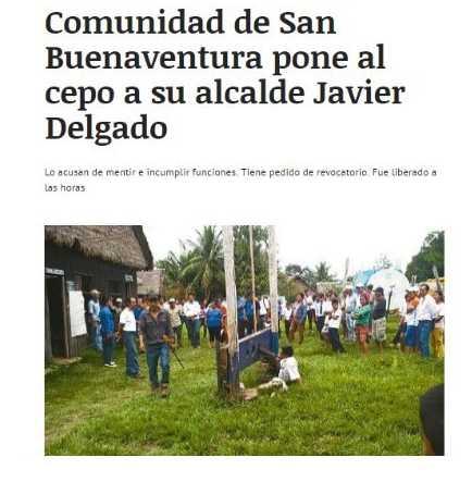 Na imagem divulgada pelo jornal El Deber, ele aparece cercado de cachorros, fumando um cigarro e sendo observado por diversos moradores da pequena cidade / Foto : El Deber