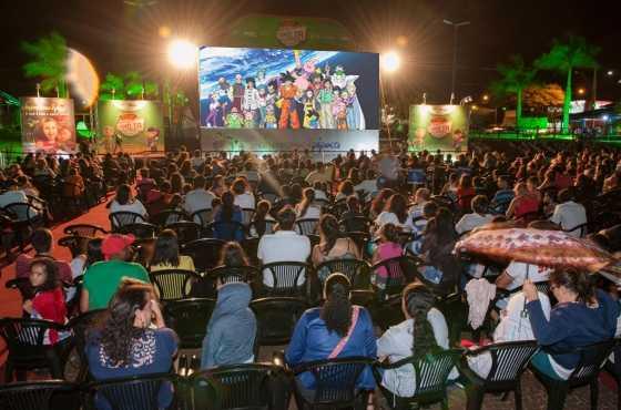 Cidade amazonense entra no ritmo e exibirá os últimos episódio de Dragon Ball Super em praça público / Foto : Montagem -  No Amazonas é Assim
