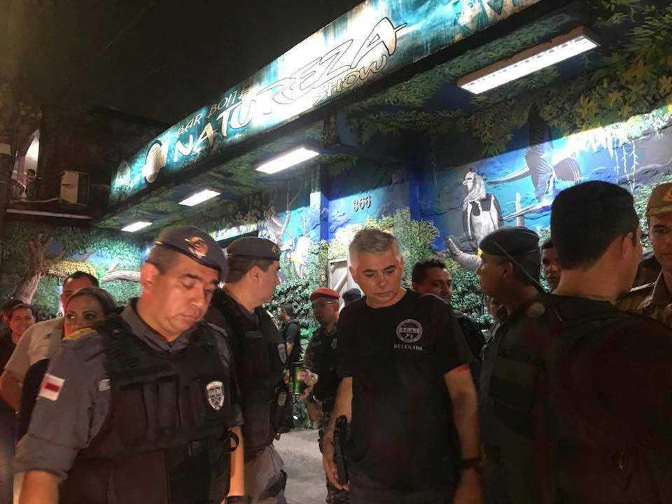 Bar Boite Natureza Show foi interditado nesta noite / Foto : Divulgação