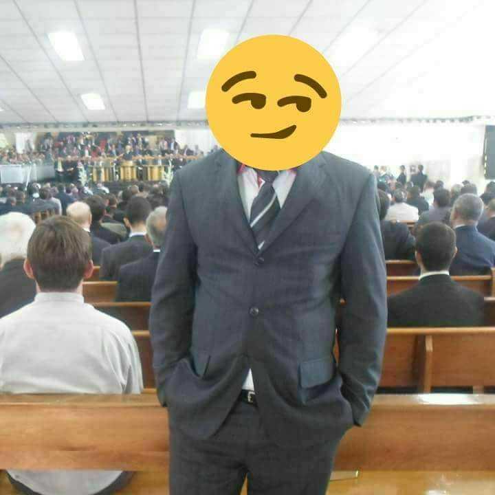 Suposto pastor talarico / Reprodução Facebook