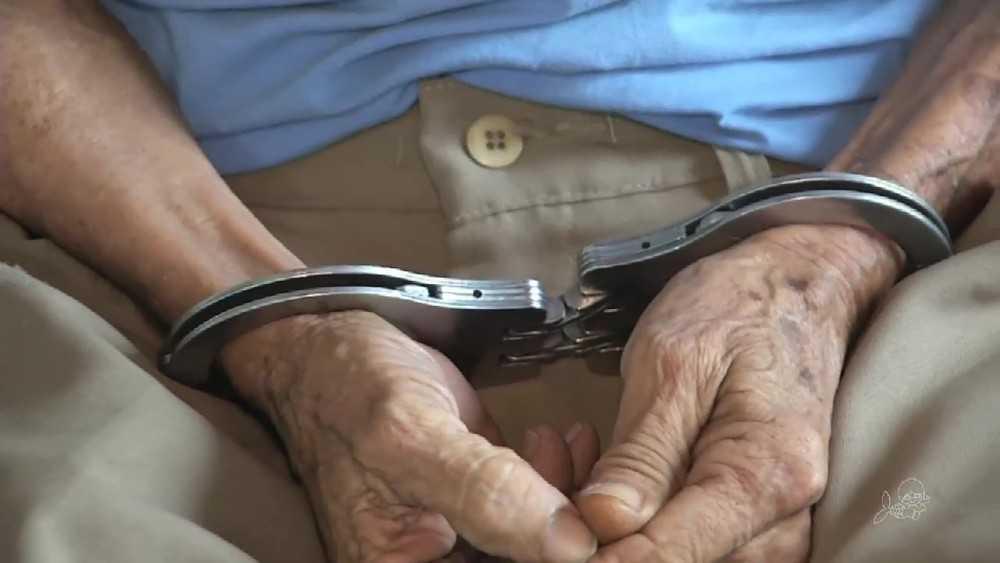 Avô preso (Foto: TV Verdes Mares/Reprodução)