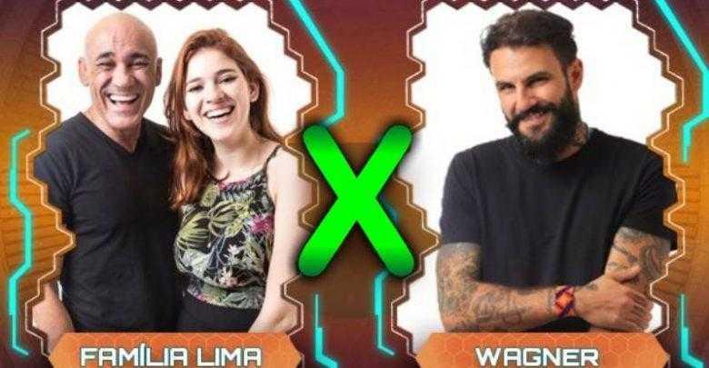 Família Lima e Wagner / Foto : Reprodução Rede Globo