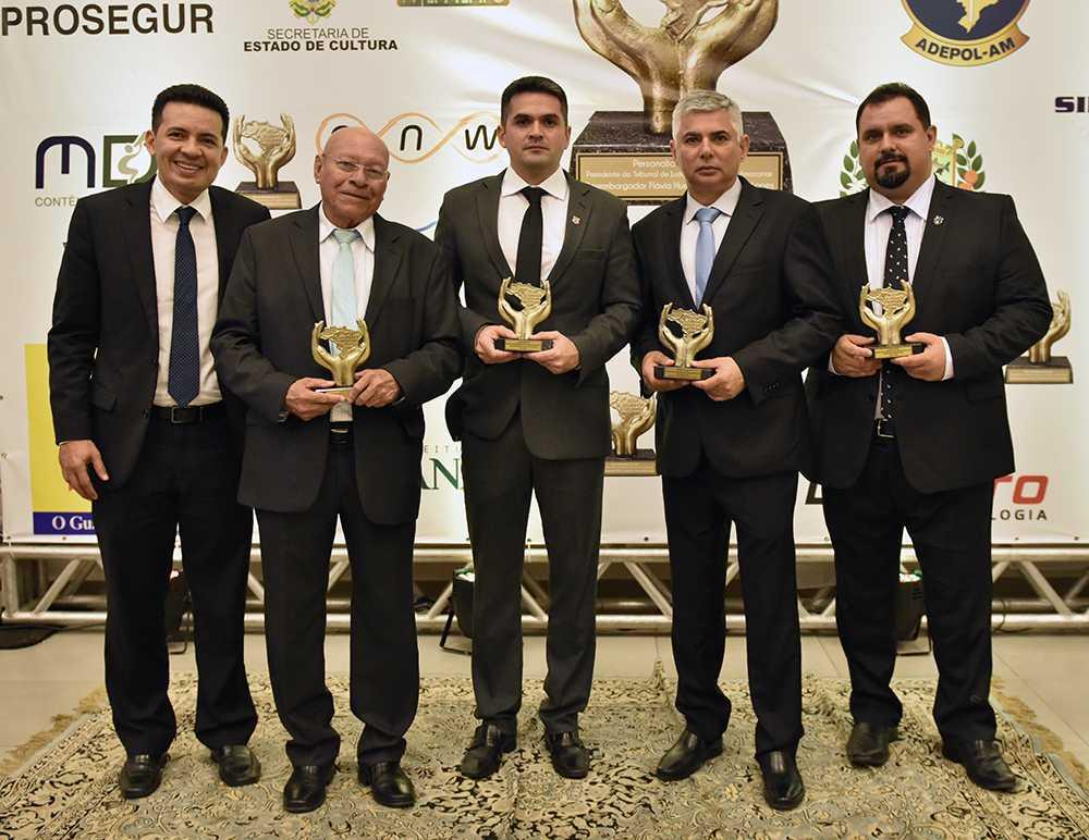 No Amazonas, Oscar da Segurança e Cidadania premia destaques em noite de homenagens - Imagem: Divulgação