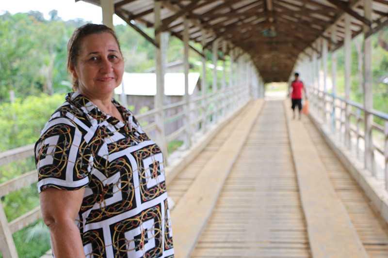 Em Pauini, no Amazonas, a candidata Eliane Amorim, do PMDB, venceu outros quatro candidatos e foi eleita prefeita, com 36,41% dos votos válidos. / Foto : Divulgação